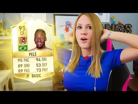 OMG!! I GOT PELE !! MY GREATEST FUT DRAFT OF FIFA 17 !!