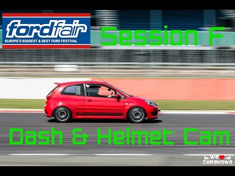300bhp+ Supercharged Fiesta ST MK6 Ford Fair 2015 Track Session [Session F] [Helmet And Dash Cam]