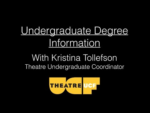 Which Theatre degree is right for you?