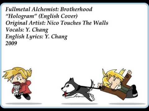 """Hologram"" - FULLMETAL ALCHEMIST: BROTHERHOOD (English Cover By Y. Chang)"