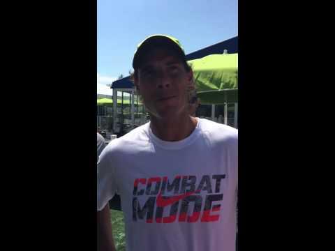 Rafael Nadal Ideal Karaoke Partner - Gael Monfils