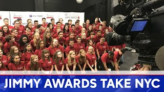 High school stars prepare for Broadway debuts in NYC