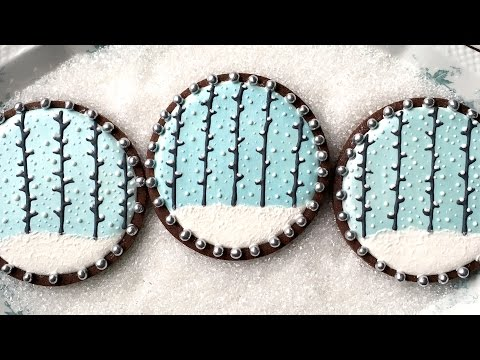 Snowy Forest Cookies
