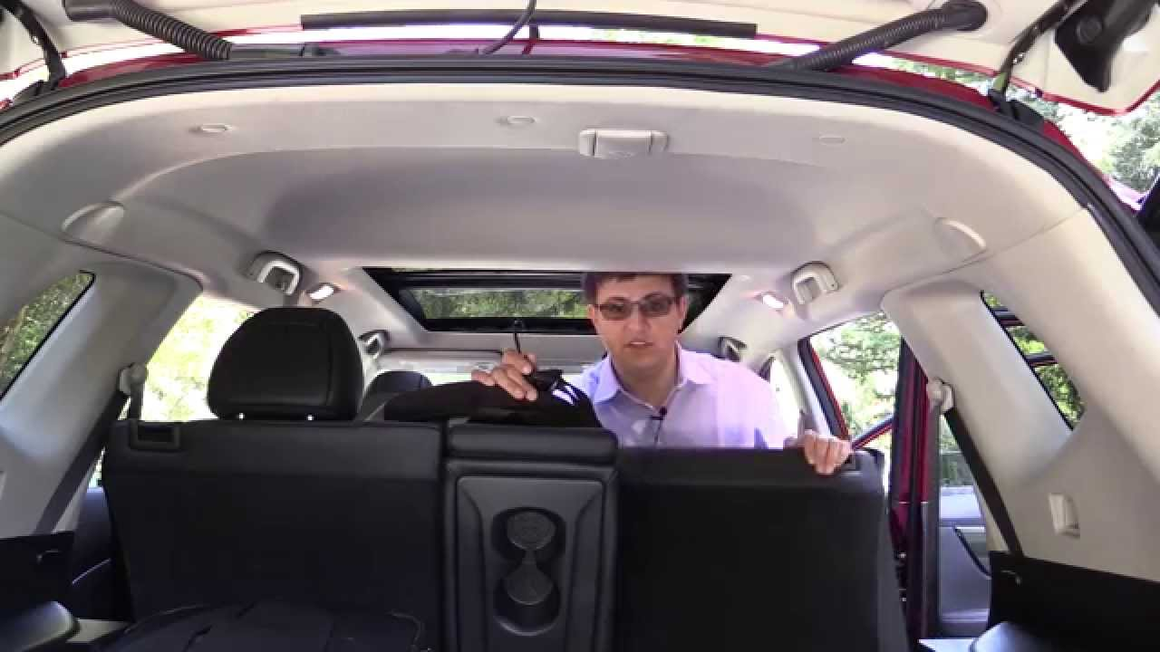 2014 Nissan Rogue Child Seat Review Youtube