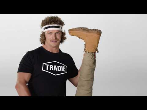 tradie brand boots