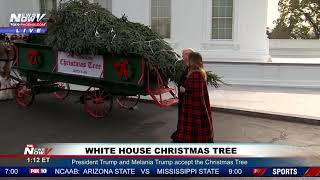 2014 White House Christmas Tree Arrives