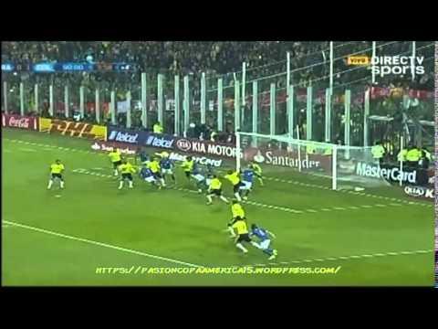 Brasil 0-1 Colombia (Caracol Radio) - Copa América 2015
