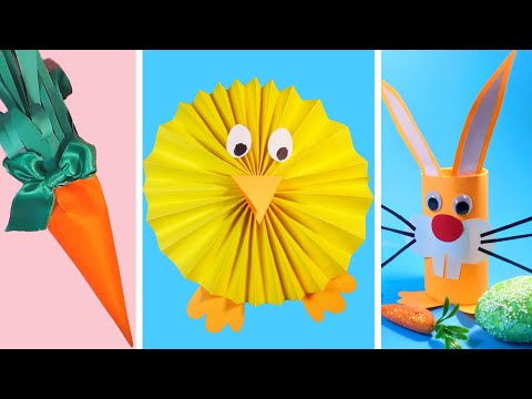 3 DIY Easy and Cute Paper Crafts Ideas for Kids