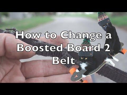 Testing Regenerative Braking and Changing Boosted Board 2 Belt Vlog