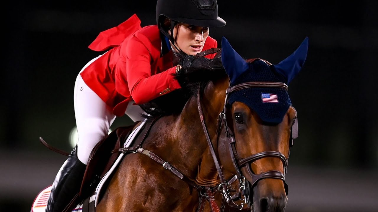 Jessica Springsteen makes her Olympic equestrian debut