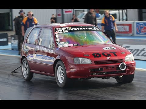 This 700-HP Toyota Starlet Can Run a Nine-Second Quarter-Mile