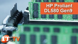 HPE Proliant DL580 Gen9 4U Rack Server Review