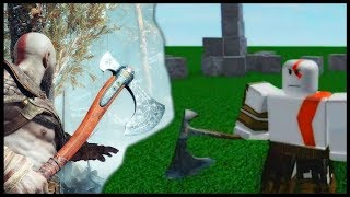 ▸ Making God of War Leviathan Axe in Roblox