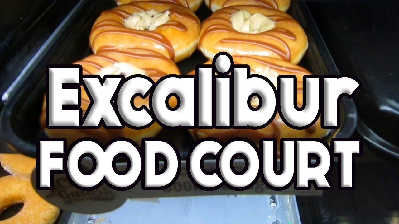 Excalibur Vegas Food Court