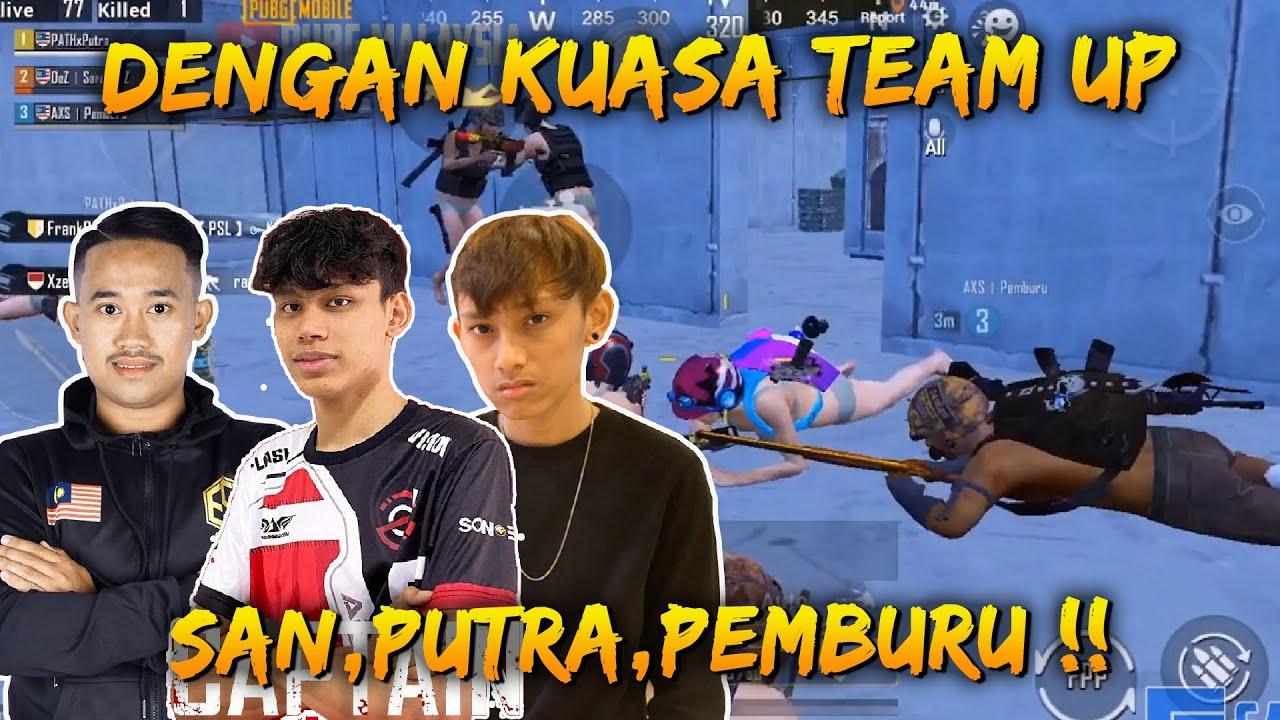 Chicken Dengan Kuasa Team Up Ramai-Ramai Kat Bootcamp | San Gameplay | PUBG Mobile Malaysia