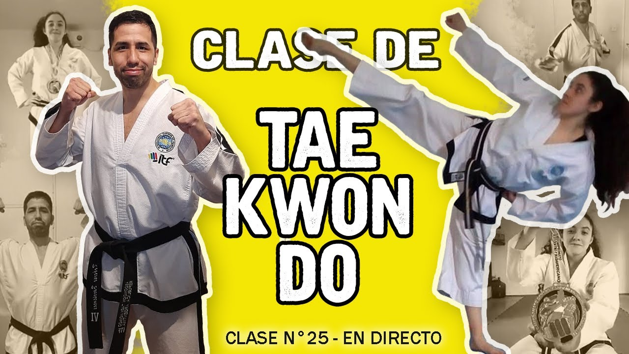 TaeKwon-Do en Casa | con Roberto Barrientos y Ailin Masdeu (Los elegidos) - N° 25