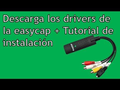 DESCARGAR DRIVERS ORIGINALES DE EASYCAP + TUTORIAL DE INSTALACIÓN