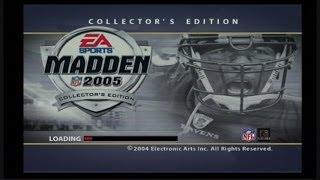 MADDEN 2005: MADDEN 05 VS ESPN NFL 2K5: #throwbackthursday