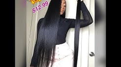 """***Affordable Hair*** Slay in 36"""" Hair for Less!👏🏾 $12.99😱"""