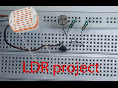 LDR Project | LDR experiment - YouTube