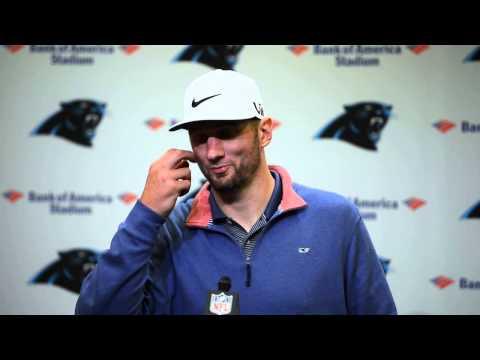 Derek Anderson following Panthers win vs Buccaneers