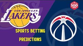 Los Angeles Lakers vs Washington Wizards 2/22/21 Free NBA Pick and Prediction Sports Betting Tips