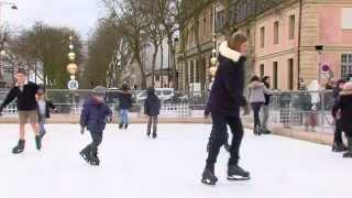 Loisirs : une patinoire écologique à Versailles