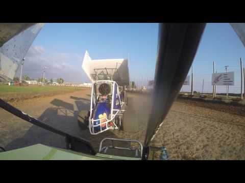 Miami County Speedway Wing Class B Main Outlaw Challenge 10-2-2016