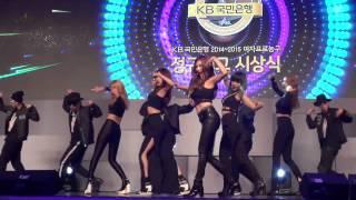 포미닛(4Minute) '미쳐'(Crazy) @ 2014 여자프로농구 시상식