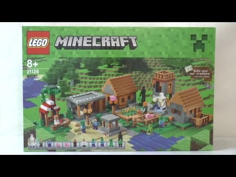 Lego Minecraft 21128 Wioska Youtube