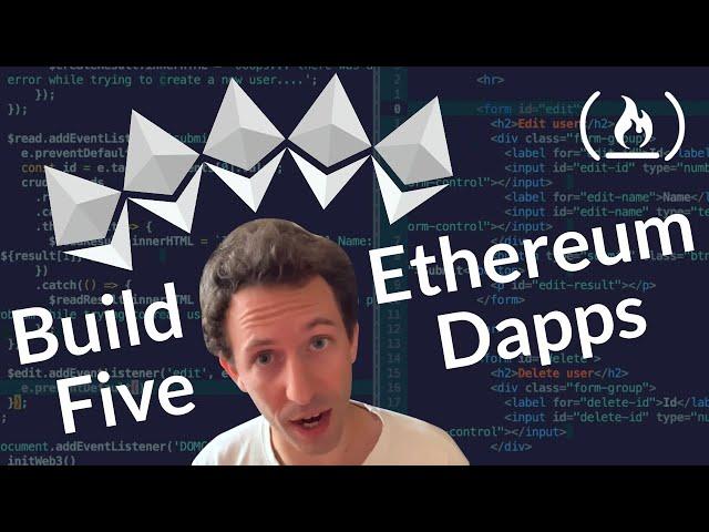 Build 5 Dapps on the Ethereum Blockchain - Beginner Tutorial