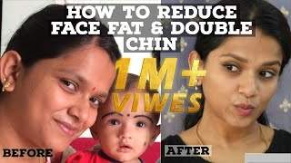 How to reduce DOUBLE CHIN and EXTRA FAT from NECK in Just 1 WEEK.