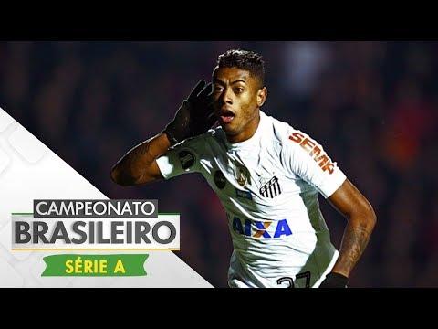 Melhores Momentos - Gols de Santos 3 x 0 Bahia - Campeonato Brasileiro (23/07/2017)