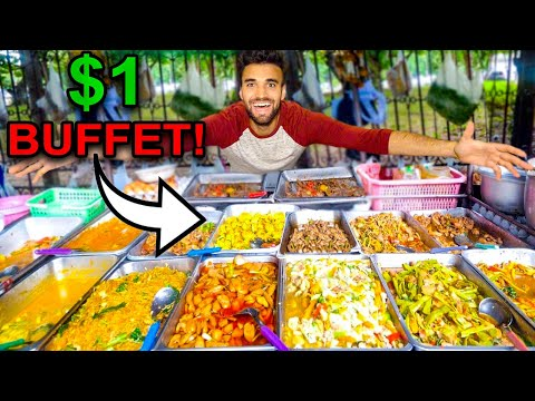 WORLD'S CHEAPEST All You Can Eat BUFFET Vs. MOST EXPENSIVE BUFFET!