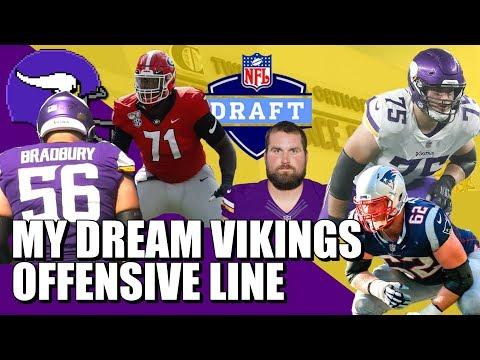 My Dream Vikings Offensive Line 😍😍😍