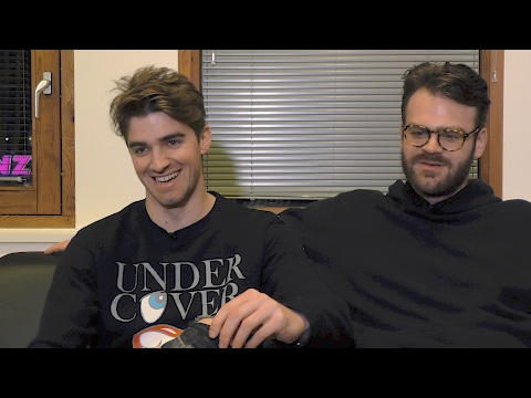 The Chainsmokers interview - Drew and Alex