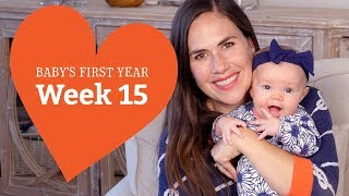 15 Week Old Baby - Your Baby's Development, Week by Week