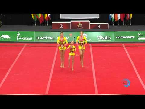 RUSSIA, Juniors Women's Group -- 2013 European Junior Champion