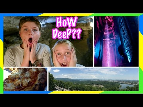 🔦 RUBY FALLS! 🌎 | LOOKOUT MOUNTAIN | CHATTANOOGA SITES