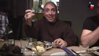 Sea Shepherd whale meat dinner