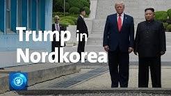 Trump trifft Kim: Erster US-Präsident in Nordkorea