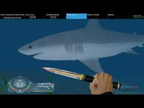 [WR] Shark! Hunting The Great White - Extended Any% Hard Speedrun - 17:24