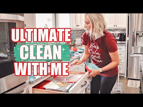 ULTIMATE WHOLE HOUSE CLEAN WITH ME- EXTREME CLEANING MOTIVATION 2019- CLEANING MUSIC JESSI CHRISTINE