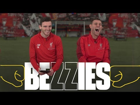 BEZZIES with Milner and Robertson | 'I had to phone my Dad for one of the answers'