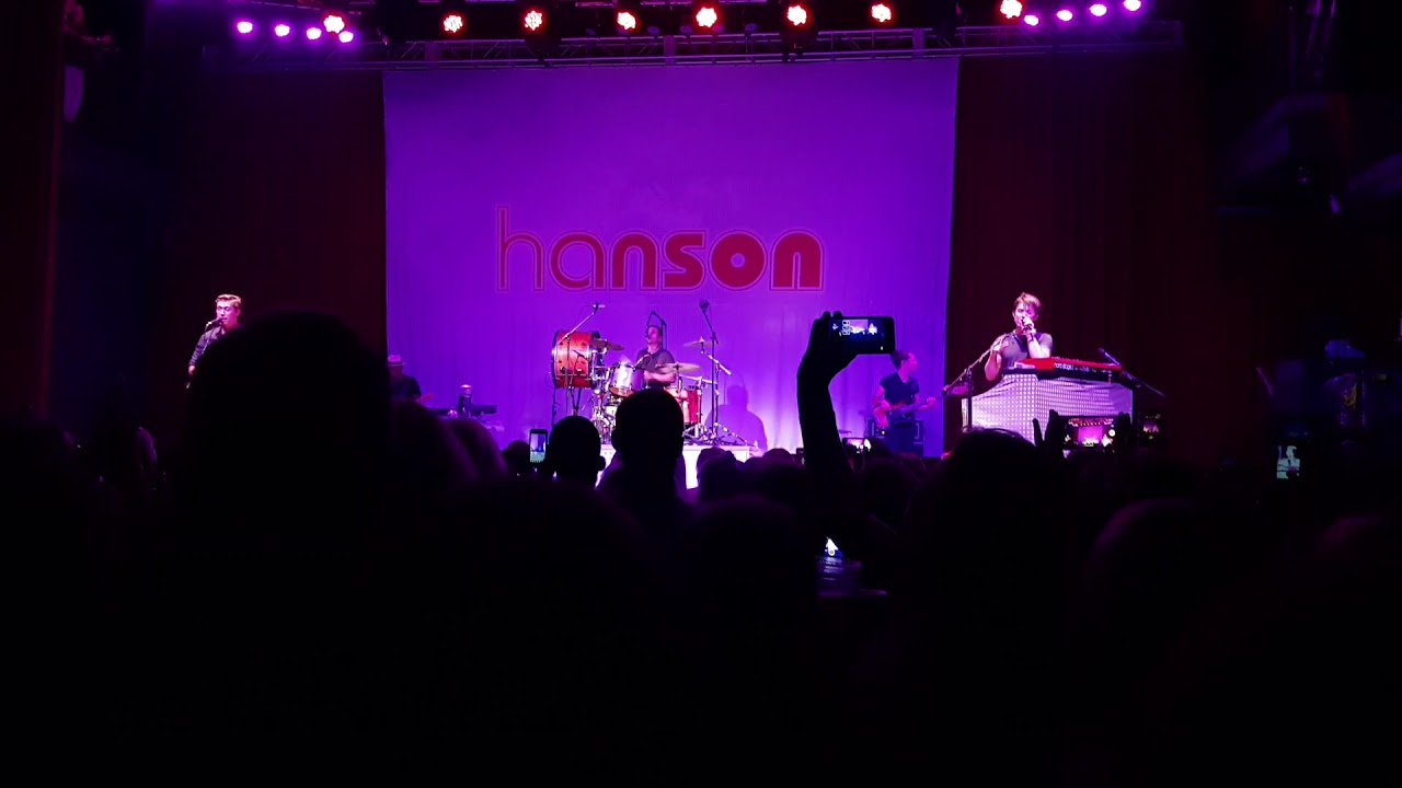 Hanson Mmmbop Live At The Fillmore Silver Spring Maryland