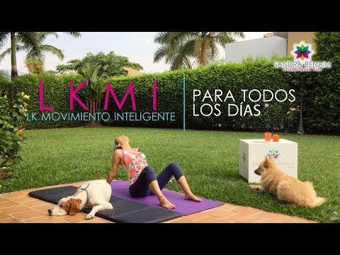 Conectando la pelvis l Sandra Benaim l LKMI para todos los días l LK Movimiento Inteligente