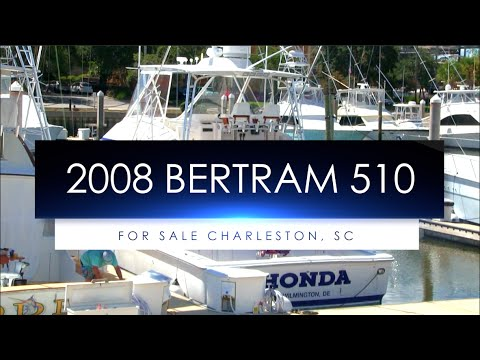 Sport Fishing Boat For Sale | 2008 Bertram 510 Convertible - In Depth Review