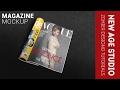 Photoshop Cc Tutorial, Magazine Mockup,  I 2017
