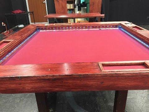 DIY Gaming Table Build - YouTube