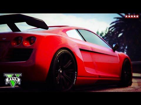 GTA 5 Next Gen: AMAZING RACES & JUMPS!!! - Grand Theft Auto 5  STUNTS - w/ STREAM TEAM